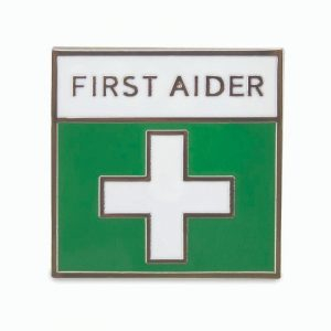Metal First Aider Badge