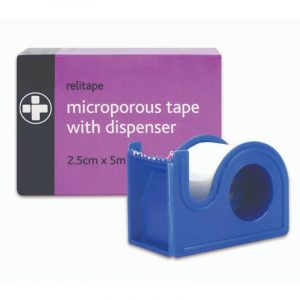 Relitape Microporous Tape with Dispenser