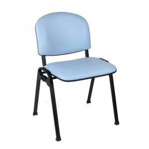 Cassius Vinyl Waiting Room Chair Range - no arms