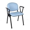 Cassius Vinyl Upholstered Medical Waiting Room Chair Range - with arms