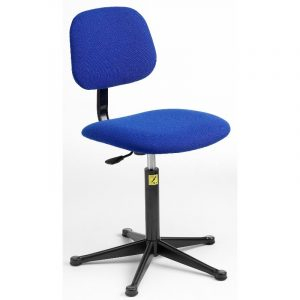 ESD Static Dissipative Gas Lift Chair on glides