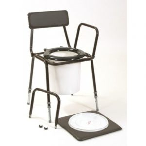 Stacking chemiloo commode