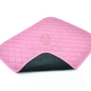 Vida Economy Washable Chair Pad in Pink, Wine, Blue or Brown