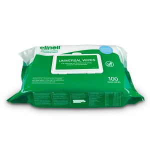 BCW100 Clinell Wipes