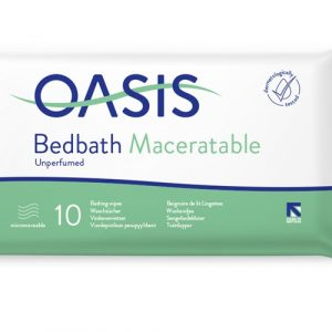 oasis bedbath maceratable
