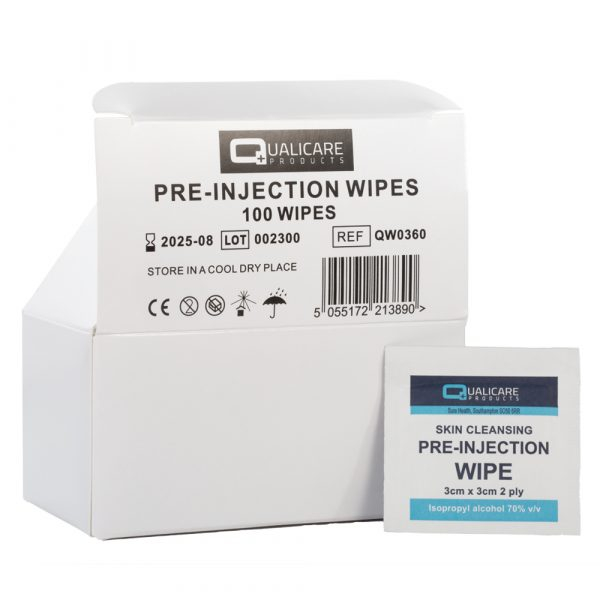 pre-injection wipes